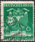 Германия. Рейх 1941 год. Двуглавый орел (ном.6 пф). 1 гашеная марка из серии