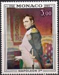 Монако 1969 год. 200 лет со дня рождения Наполеона I Бонапарта. 1 марка
