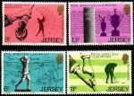 Джерси (Великобритания) 1978 год. 100 лет королевскому гольф-клубу. 4 марки