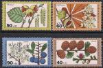 ФРГ (Берлин) 1979 год. Растения. 4 марки