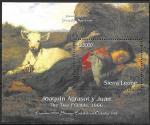 Сьерра-Леоне 2000 год. Художник Хоакин Аграсот-и-Хуан. Музей Прадо в Испании, блок