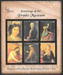 Сьерра-Леоне 2000 год. Картины музея Прадо в Испании, малый лист