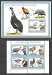 Того 2010 год. Птицы, малый лист и блок