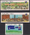 Науру 1980 год. 20 лет декларации ООН о деколонизации. 3 марки