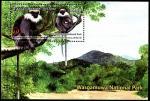 Шри-Ланка 2019 год. Национальный парк. Обезьяны. Блок