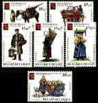 """Бельгия 1975 год. Всемирная выставка марок """"ThemaBelga"""". 6 марок"""