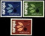 Португалия 1965 год. Европа. 3 марки