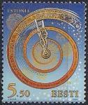 Эстония 1999 год. Новое тысячелетие. 1 марка