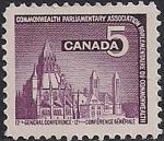 Канада 1966 год. 12-я Конференция Парламентской Ассоциации. 1 марка