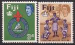 Фиджи 1964 год. 50 лет разведывательному движению. 2 марки
