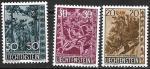 Лихтенштейн 1960 год. Деревья и кустарники, 3 марки