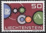 Лихтенштейн 1961 год. Европа СЕПТ, 1 марка