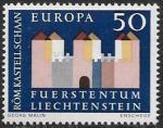 Лихтенштейн 1964 год. Европа СЕПТ, 1 марка