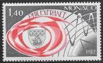 Монако 1982 год. Эмблема выставки марок, 1 марка