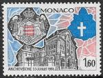 Монако 1982 год. Собор в Монако, 1 марка