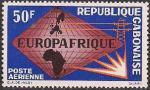 Габон 1983 год. Телекоммуникации. 1 марка