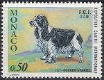 Монако 1971 год. Международная выставка собак в Монте Карло. 1 марка