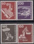 ФРГ 1978 год. Техника и промышленность. 4 марки