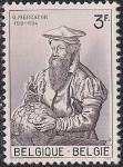 Бельгия 1962 год. 450 лет со дня рождения географу Герарду Кремеру. 1 марка