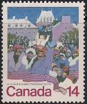 Канада 1979 год. Карнавал в Квебеке. 1 марка