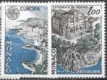 Монако 1978 год. Европа. Памятники архитектуры. 2 марки