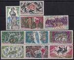 Монако 1969 год. 100 лет со дня смерти Гектора Берлиоза. Сцены из произведений. 10 марок