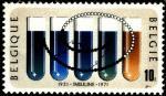 Бельгия 1971 год. 50 лет изобретения инсулина. 1 марка