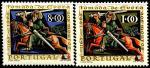 Португалия 1966 год. 800 лет городу Эвора. 3 марки