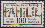 ФРГ 1994 год. Интернациональный год семьи. 1 марка