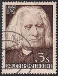 Австрия 1961 год. 150 лет со дня рождения Ф. Листа. 1 гашеная марка