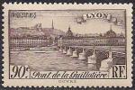 Франция 1939 год. Мост в Лионе. 1 марка