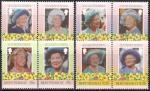 Монсеррат 1985 год. 85 лет со дня рождения Елизаветы Второй. 8 марок