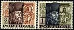 Португалия 1968 год. 400 лет со дня рождения миссионера Бенто де Гоиша. 2 марки