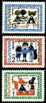 Болгария 1969 год. Сказки для детей. 3 марки