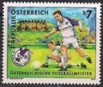 Австрия 2001 год. ЧМ по футболу в Нидерландах (006.2337). 1 марка