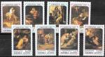 Сьерра Леоне 1989 год. Искусство. Картины Рембрандта, 8 марок