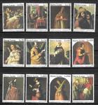 Сьерра Леоне 1992 год. Картины Франциско Сурбарана, 12 марок
