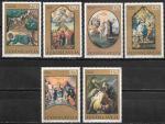 Югославия 1970 год. Религия в искусстве, 6 марок