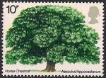 Великобритания 1974 год. Деревья Британии. 1 марка