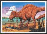 Гренада 1997 год. Динозавры, блок