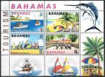 Багамские острова 1969 год. Туризм, блок