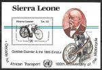 Сьерра-Леоне 1985 год. Мотоциклы, блок