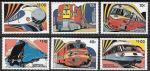 Гренада Гренадины 1982 год. Поезда, 6 марок