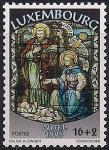 Люксембург 1995 год. Рождество. 1 марка