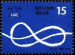 Бельгия 1993 год. 150 лет создания ассоциации выпускников университета Брюсселя. 1 марка