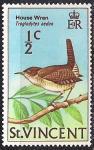 Сент Винсент и Гренадины 1970 год. Домовой крапивник (ном. 1/2). 1 марка из серии