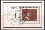 ГДР 1980 год. Нидерландский художник Франс Халс. Блок со спецгашением