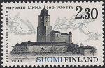Финляндия 1993 год. 700 лет городу Выборг. Совместный выпуск с Россией. 1 марка