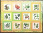 Беларусь 2004 год. 8-й стандартный выпуск. Деревья и кустарники Беларуси (042.288). Малый лист