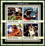 Гвинея-Бисау 2003 год. Летние олимпийские игры в Афинах. Малый лист